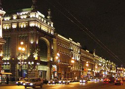 Nevsky Prospekt in St. Petersburg